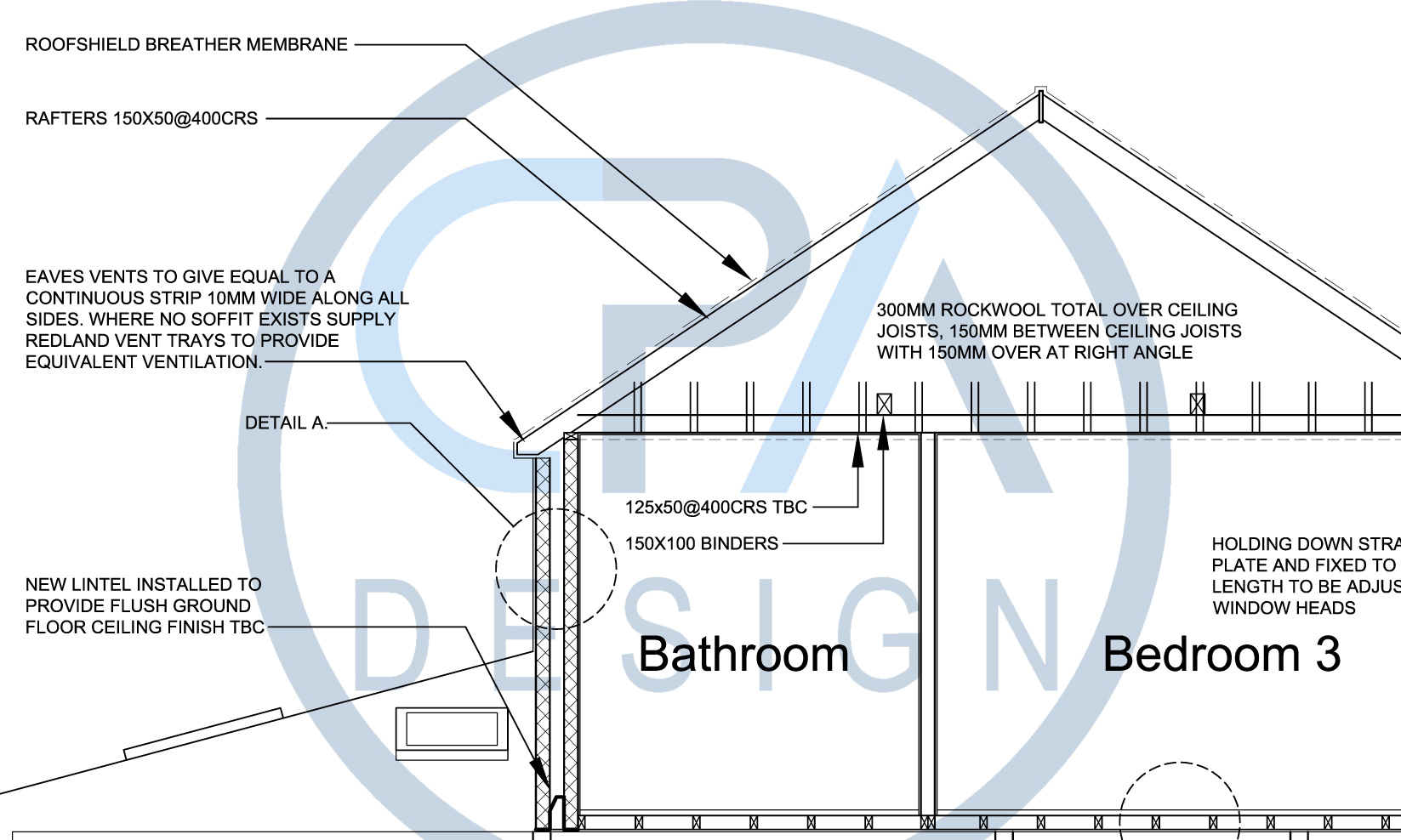 CPA Design Building Regulation Drawings