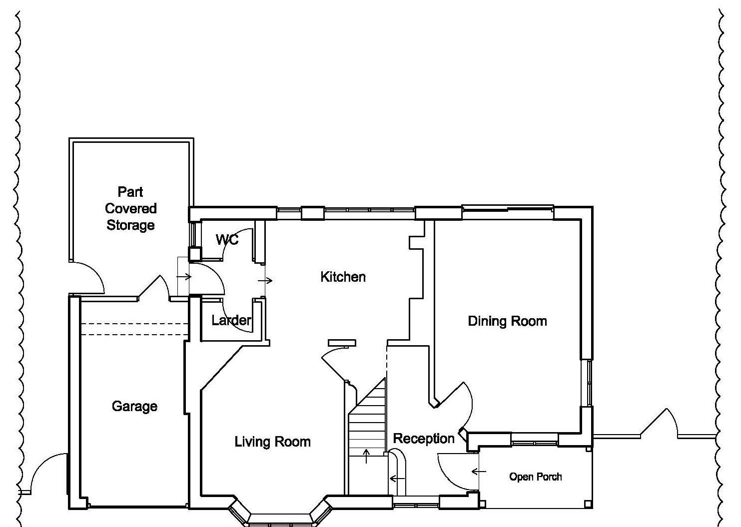 As Existing Floor Plan by CPA Design