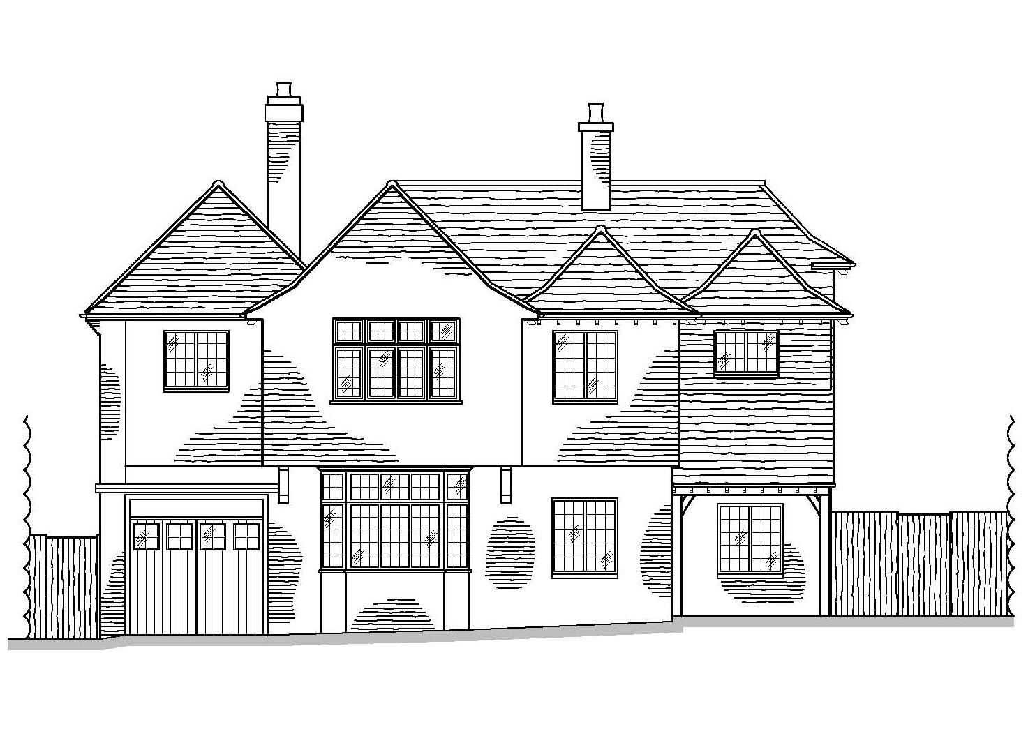 As Proposed Front Elevation by CPA Design